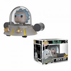 Figura Pop Rick and Morty Rick Nave - Exclusiva