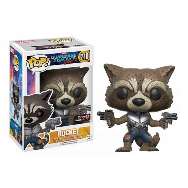 Funko Pop Rocket Guardianes de la Galaxia 2 - Exclusivo
