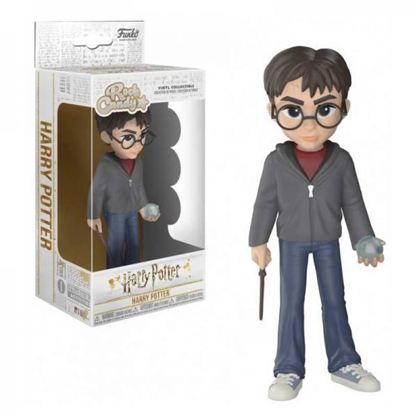 Figura Funko Rock Candy Harry Potter Con Profecía