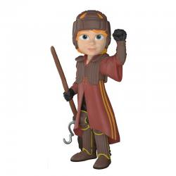 Figura Funko Rock Candy Harry Potter Ron en Uniforme Quidditch