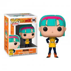 Figura Pop Bulma Traje Amarillo Dragon Ball Z