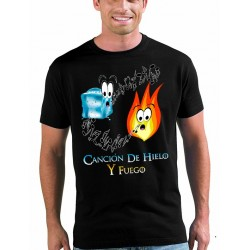 """Camiseta Juego de tronos """"Canción de Hielo y Fuego"""""""