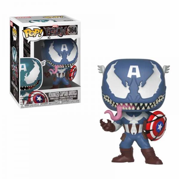 Figura Funko Pop Venom Venomized Capitan America