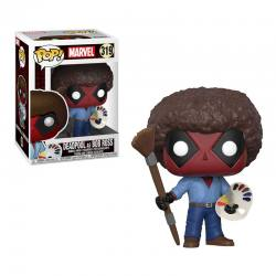 Figura Funko Pop Marvel Deadpool as Bob Ross