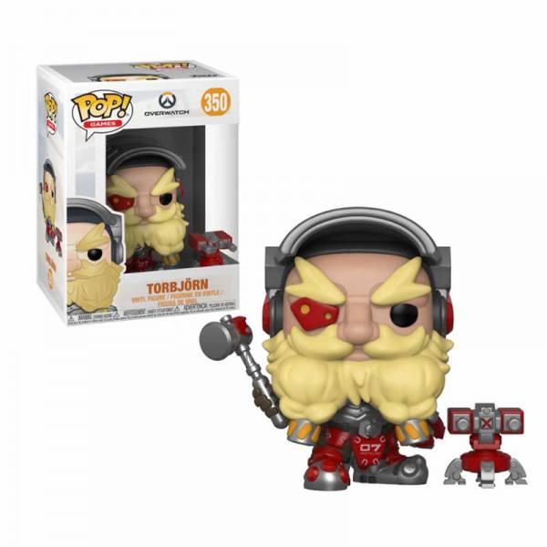 Figura Pop Overwatch Torbjorn