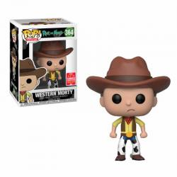 Figura Pop Rick And Morty Western Morty - Exclusiva SDCC18
