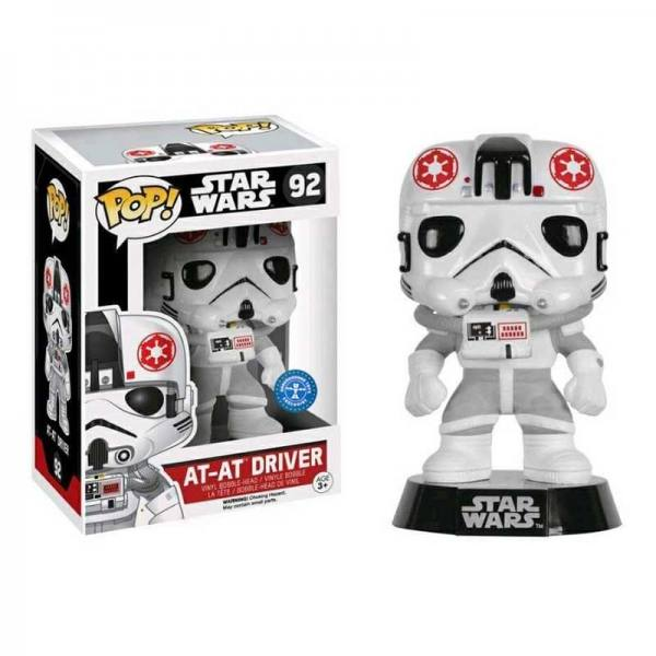 Figura Funko Pop Star Wars At - At Driver - Exclusiva