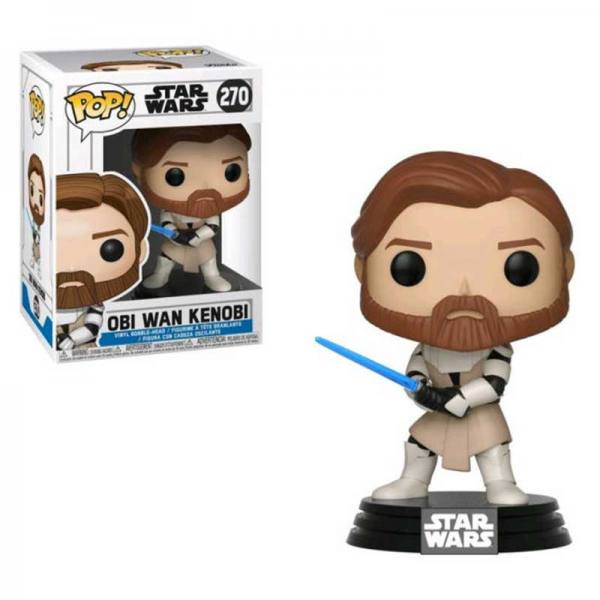 Funko Pop Obi Wan Kenobi Star Wars The Clone Wars