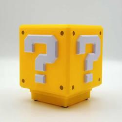 Lámpara Interrogante Super Mario - Con Sonido
