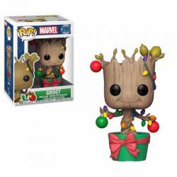 Figura Pop Marvel Holiday Groot Lights & Ornaments