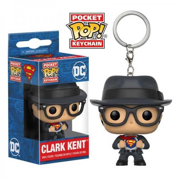 Llavero Funko Pop Dc Comics Clark Kent - Superman