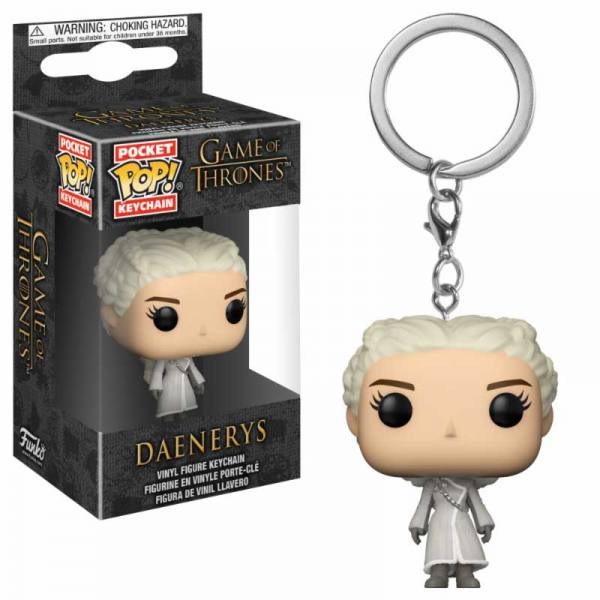 Llavero Funko Pop Game of Thrones Daenerys White Coat