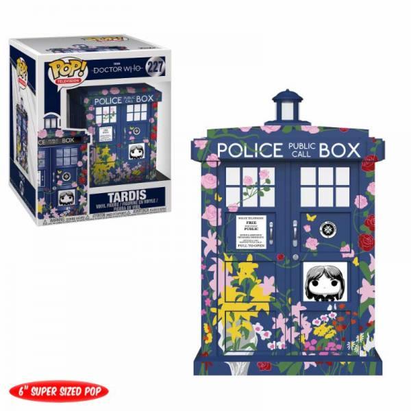 Doctor Who Funko Pop Tardis Clara Memorial