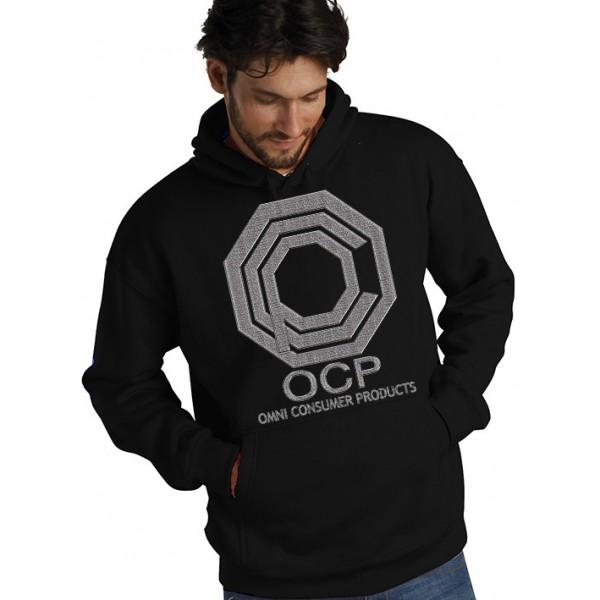 Sudadera Robocop con capucha con diseño OCP