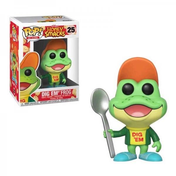 Funko Pop Honey Smacks Dig Em' Frog