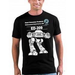 Camisetas Robocop con diseño robot ED-209