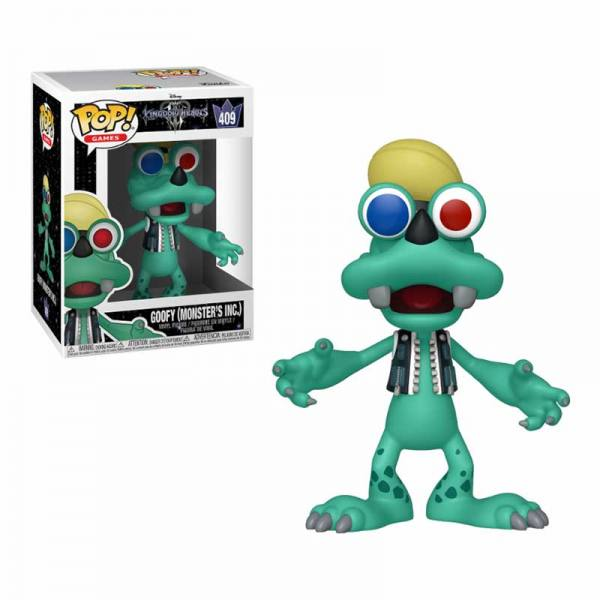 Figura Pop Kingdom Hearts Goofy Monster's Inc