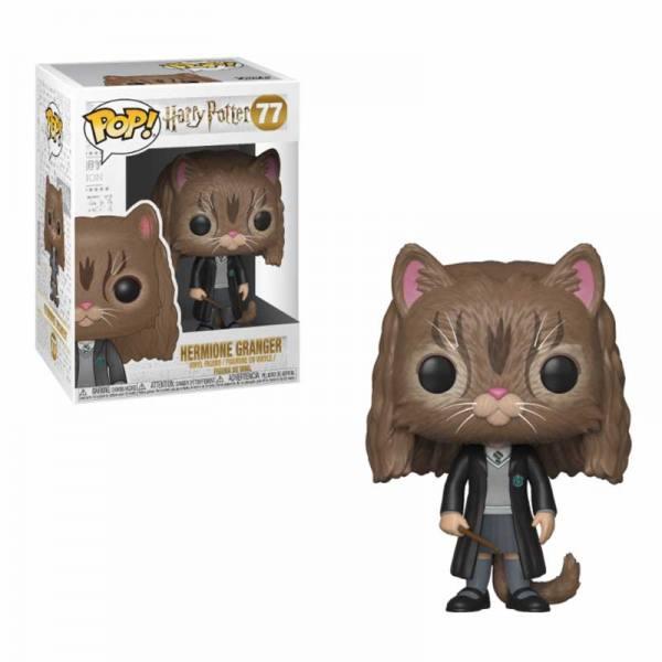 Figura Pop Hermione Gato Harry Potter