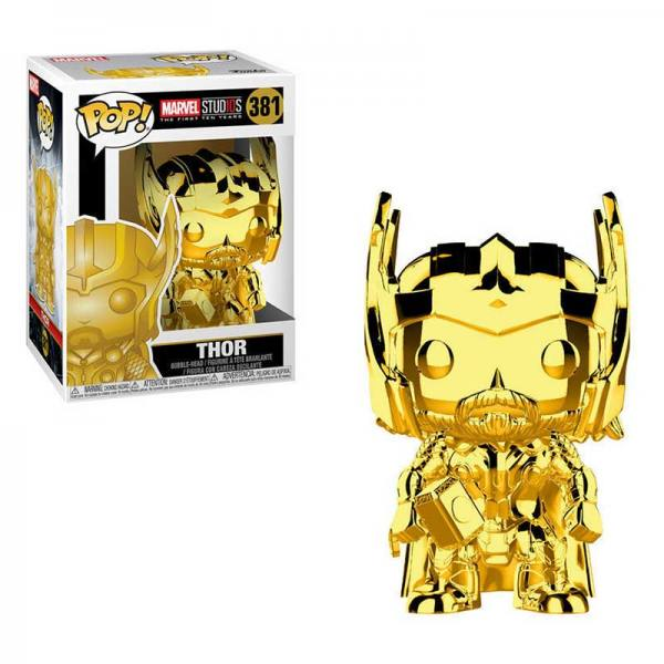 Figura Pop Thor Gold Chrome Marvel Studios 10
