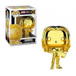Figura Pop Gamora Gold Chrome Marvel Studios 10