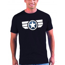 Camiseta Capitan America manga corta - Soldado de invierno 2014