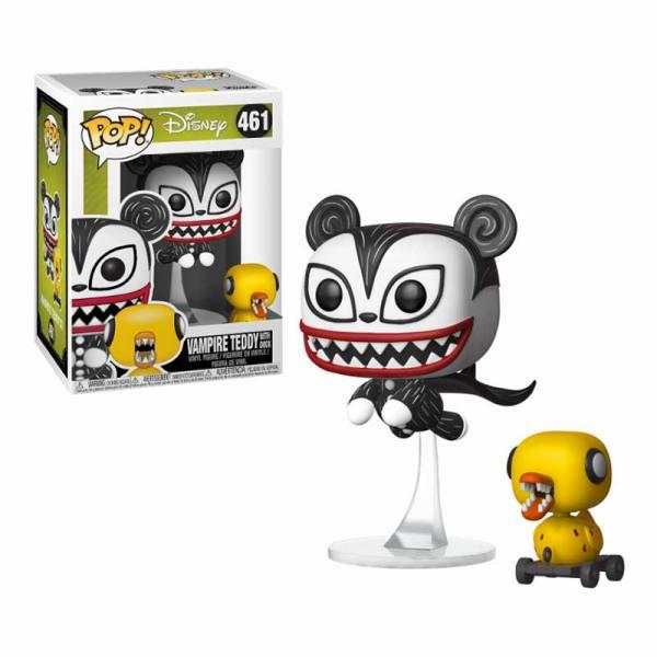 Figura Pop Disney Pesadilla antes de Navidad Vampire Teddy con Duck