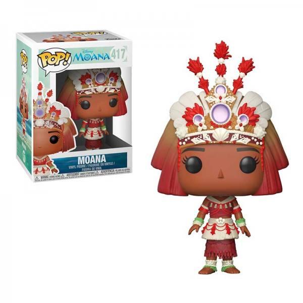 Figura Pop Moana Ceremony Disney