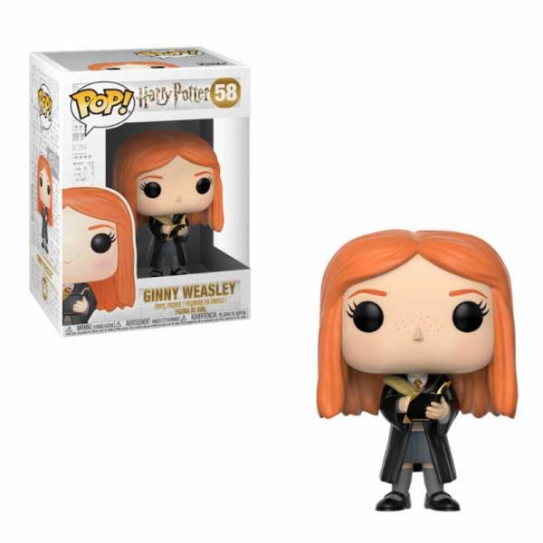 Figura Pop Ginny Weasley con Diario - Harry Potter