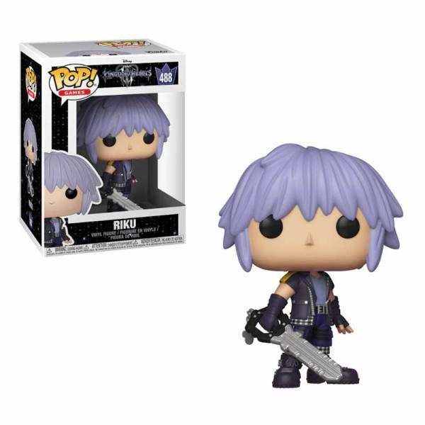 Figura Pop Kingdom Hearts 3 Riku