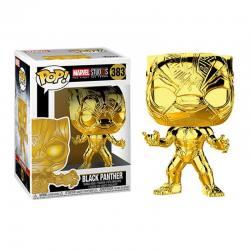 Figura Pop Black Panther Gold Chrome Marvel Studios 10