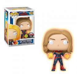 Figura Funko Pop Capitana Marvel Exclusiva