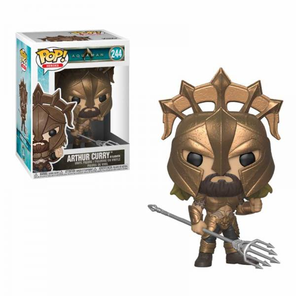 Figura Funko Pop Aquaman Arthur Curry Gladiator