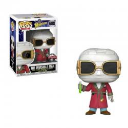 Figura Funko Pop Monsters The Invisible Man - Exclusiva