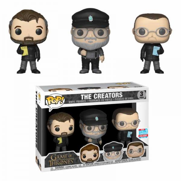 Figura Pop Game Of Thrones The Creators - Exclusiva 2018
