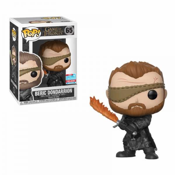 Figura Pop Game Of Thrones Beric Dondarrion - Exclusiva 2018