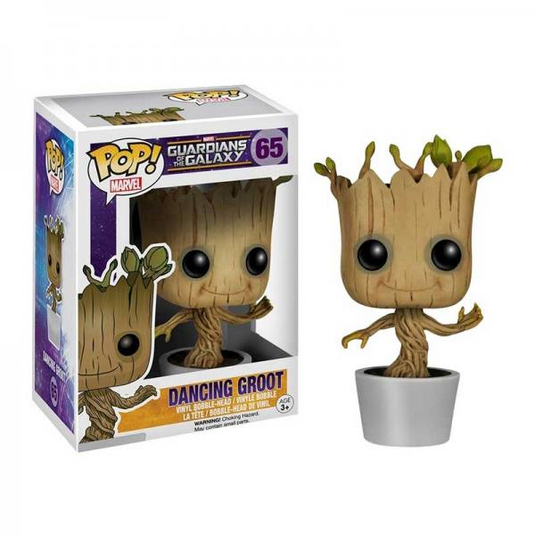 Figura Funko Pop Dancing Groot Guardians Of The Galaxy