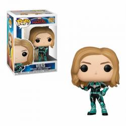 Figura Pop Captain Marvel Vers
