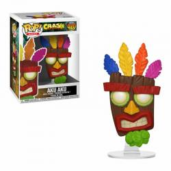 Figura Funko Pop Crash Bandicoot Aku Aku