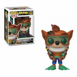 Figura Funko Pop Crash Bandicoot Scuba Gear