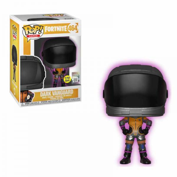 Funko Pop Fortnite Dark Vanguard - Glows In The Dark