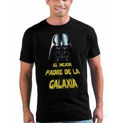 """Camiseta Star Wars """"Dia del Padre"""" - el mejor padre de la galaxia"""