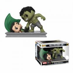 Funko Pop Movie Moments Hulk Smashing Loki - Exclusiva