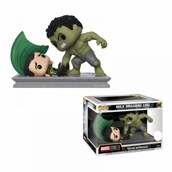Funko Pop Movie Moments Hulk Smashing Loki - Exclusiva