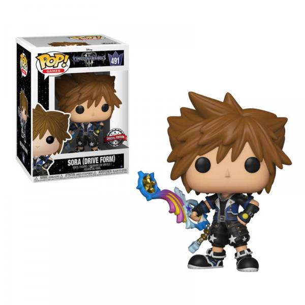 Funko Pop Sora Drive Form Kingdom Hearts 3 - Exclusivo