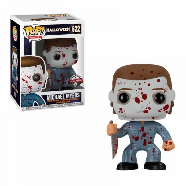 Figura Pop Michael Myers Blood Splatter Halloween - Exclusiva