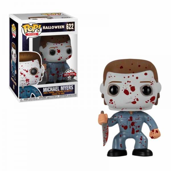 Figura Pop Michael Myers Blood Splatter Halloween - Exclusiva