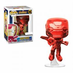 Figura Pop Avengers Infinity War Iron Man Cromado Rojo - Exclusiva