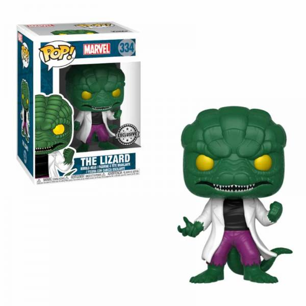 Figura Pop Marvel The Lizard - Exclusiva
