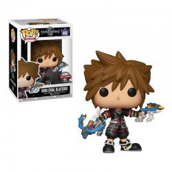 Figura Pop Sora Dual Blasters Kingdom Hearts 3 - Exclusiva