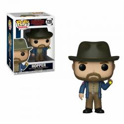 Funko Pop Stranger Things Hopper Con Linterna
